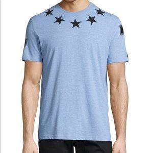 Givenchy blue star t shirt xl